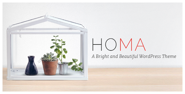 Wordpress Kreativ Template Homa - Elegant WordPress Theme