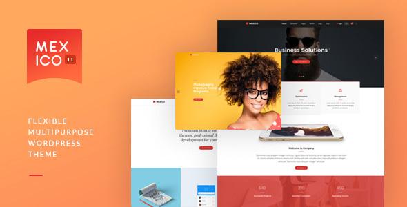 Wordpress Corporate Template Mexico - Flexible Multipurpose WordPress Theme