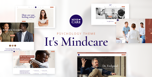 Wordpress Immobilien Template MindCare - Psychology and Counseling Theme