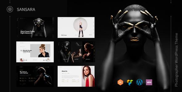 Wordpress Kreativ Template Sansara - Photography
