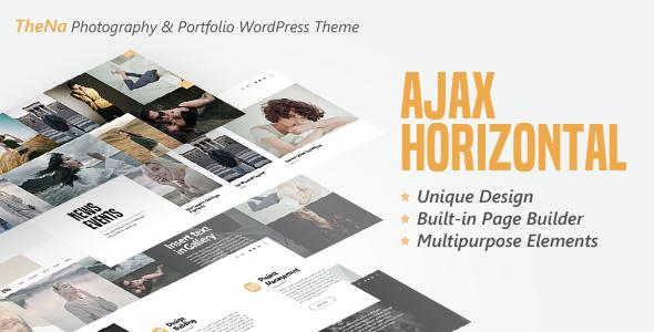 Wordpress Kreativ Template TheNa - Photography & Portfolio WordPress Theme