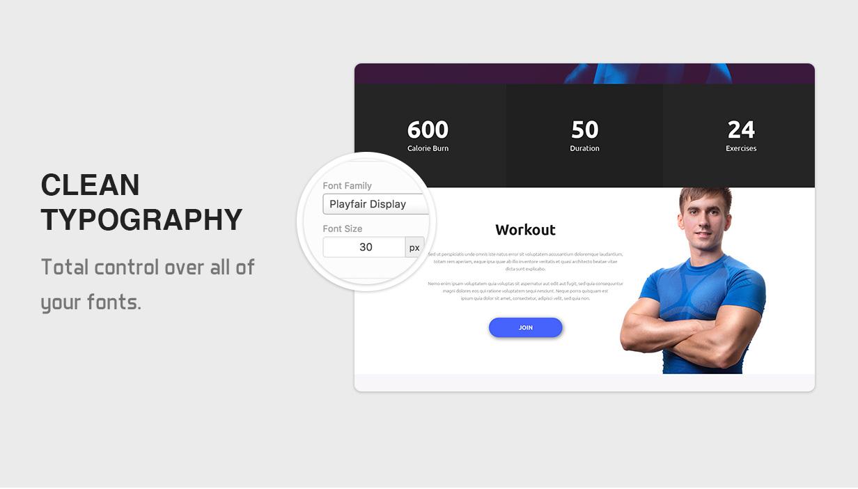 X-Gym - Fitness WordPress-Theme für Fitnessclubs, Fitnessstudios und Fitnesscenter - 11