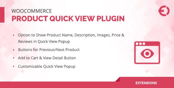 Wordpress E-Commerce Plugin WooCommerce Product Quick View Plugin