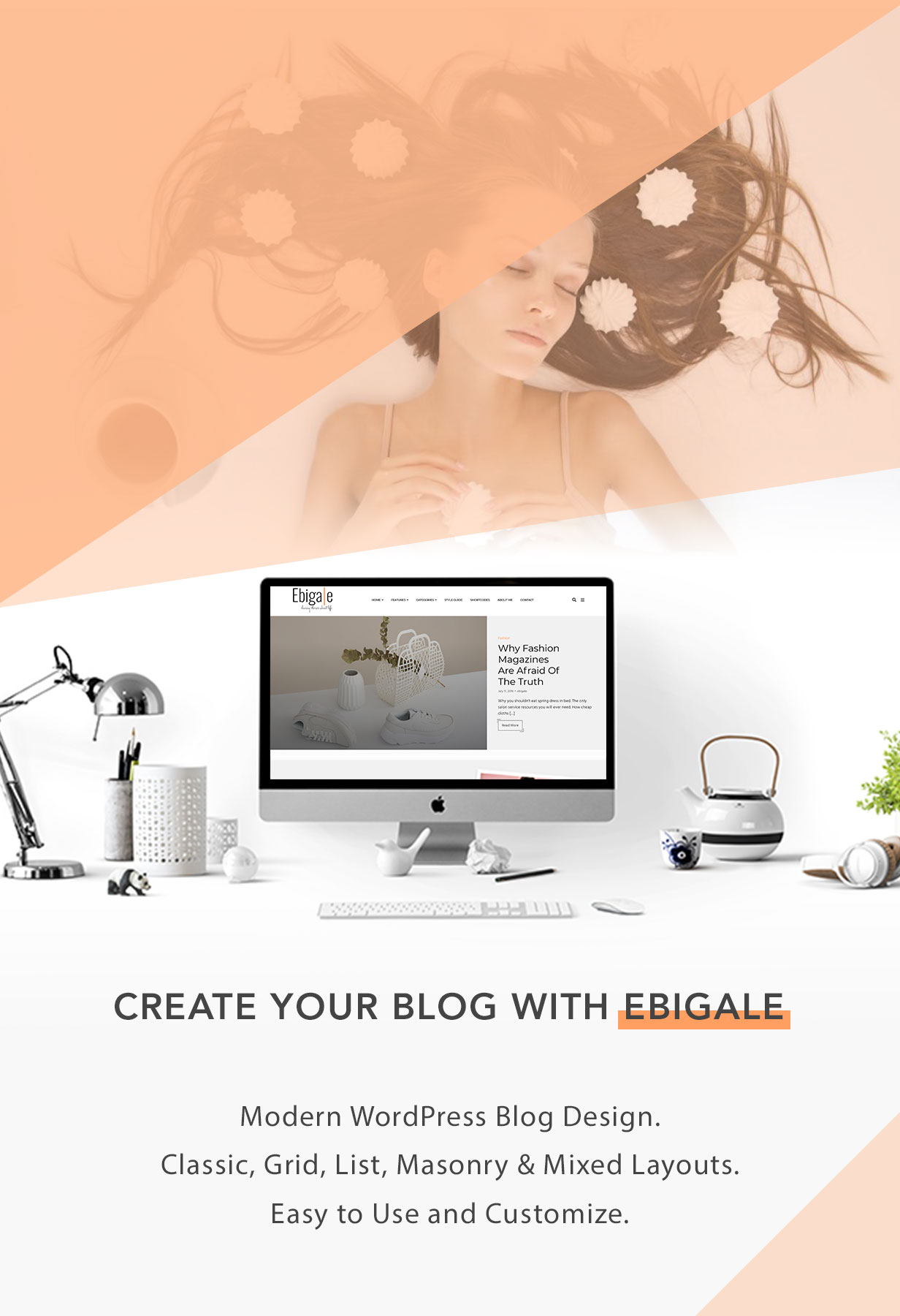 Ebigale - Modernes Gutenberg WordPress Blog Theme - 5