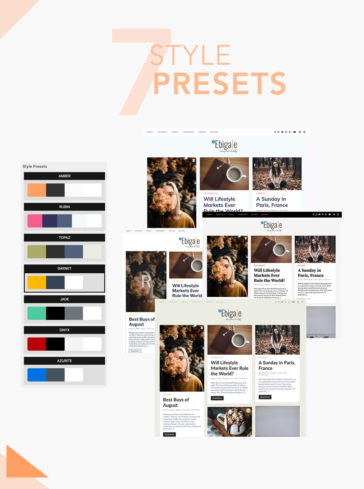 Ebigale - Modernes Gutenberg WordPress Blog Theme - 6