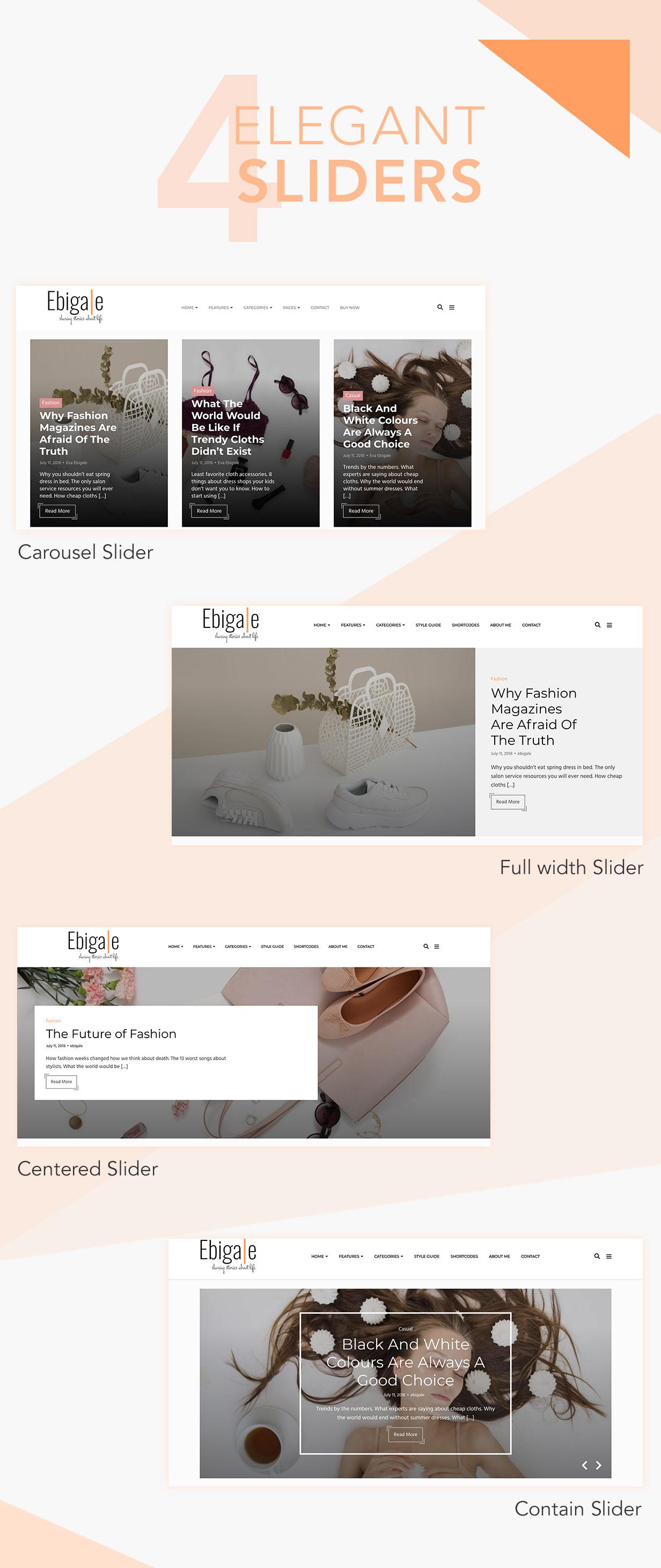 Ebigale - Modernes Gutenberg WordPress Blog Theme - 7