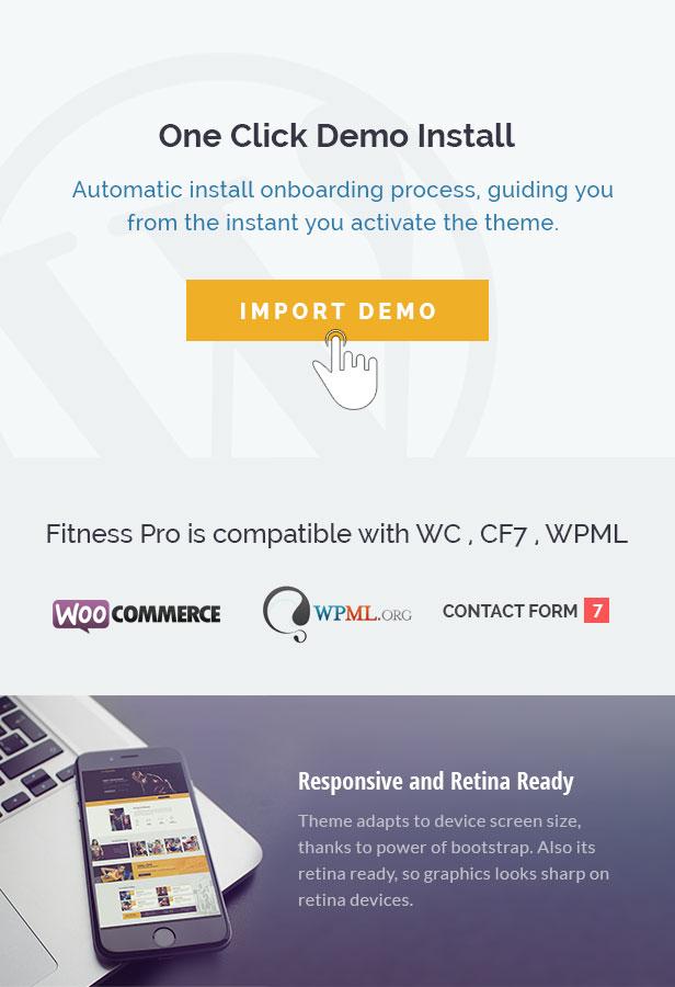 Fitness WordPress-Thema