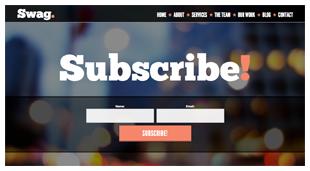 Swag - One Page Parallax WordPress Theme - 8