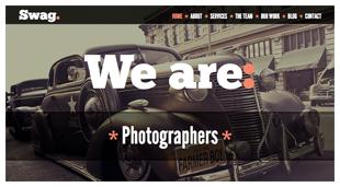 Swag - One Page Parallax WordPress Theme - 5