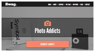 Swag - One Page Parallax WordPress Theme - 6
