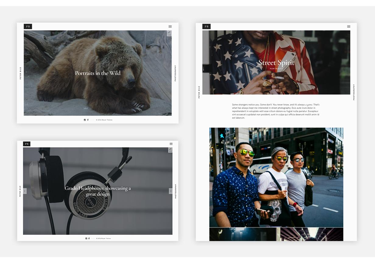 Bild - Ein fokussiertes WordPress-Fotografie-Thema - 4