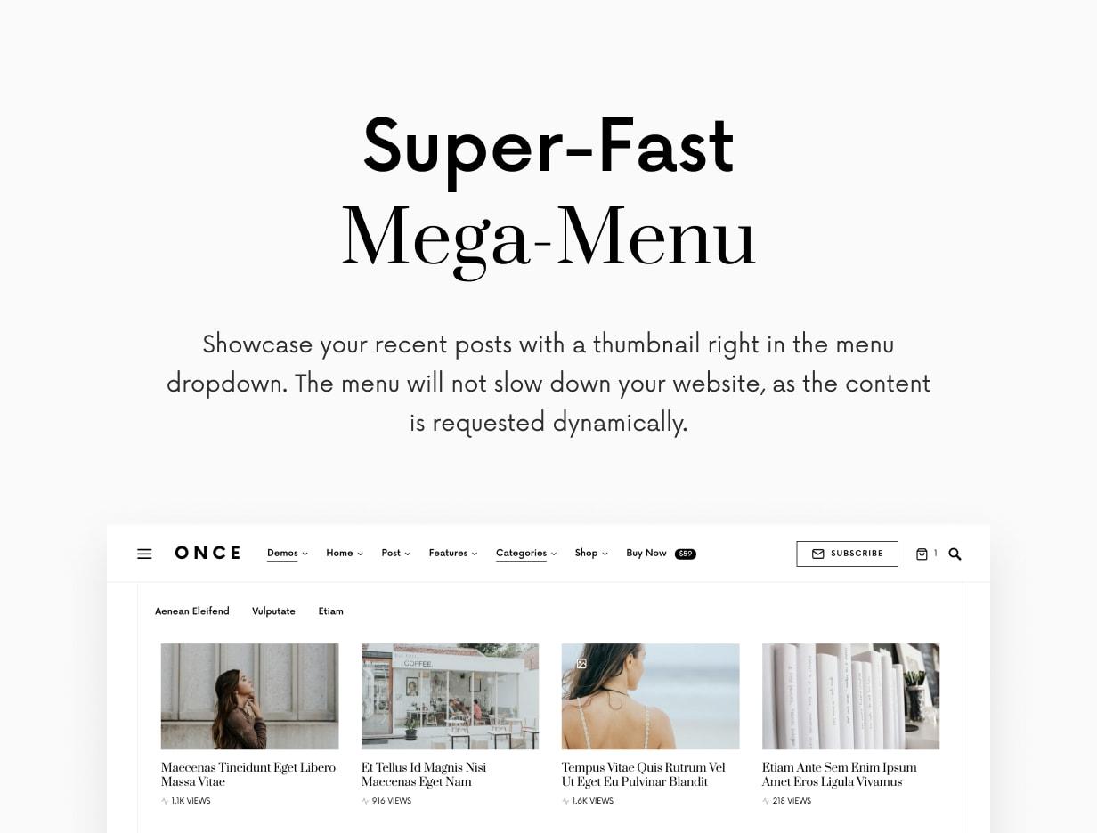 Einmal - Sauberes und elegantes WordPress-Blog-Thema - 14