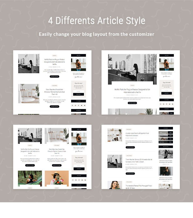 Zahara - Ein WordPress Blog & Shop Thema - 4