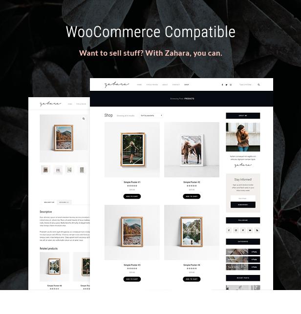 Zahara - Ein WordPress Blog & Shop Thema - 5