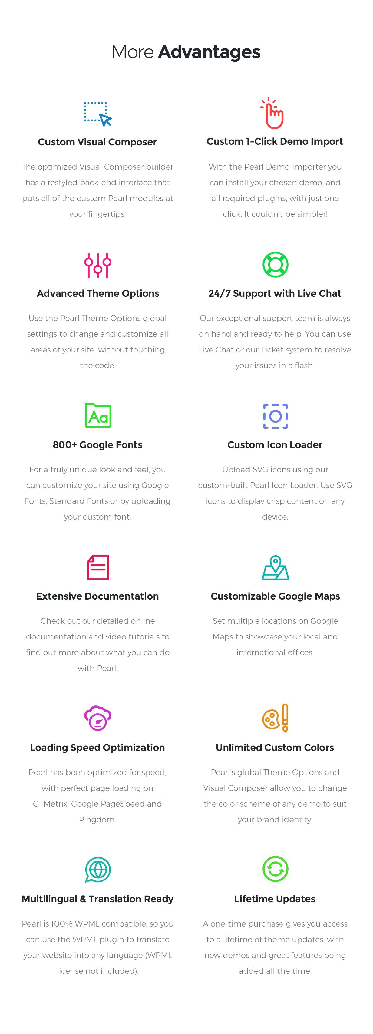 Pearl - WordPress-Theme für Unternehmen - 12