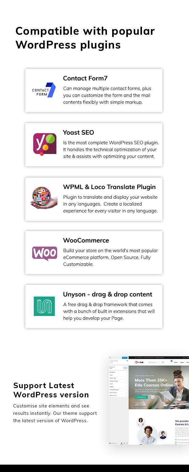 Vultur - LMS Education WordPress - 6