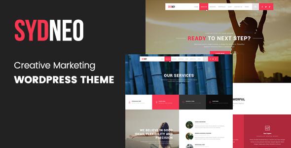 Wordpress Corporate Template Marketing | SEO | Sydneo Marketing WordPress for SEO & Marketing Services