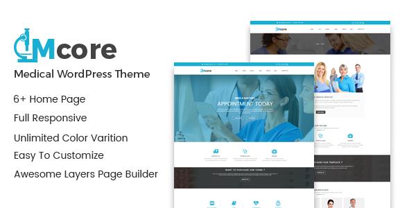 Wordpress Immobilien Template Medicore - Health Care & Medical WordPress Theme