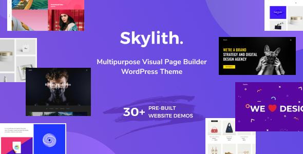 Wordpress Kreativ Template Skylith | Multipurpose Gutenberg WordPress Theme