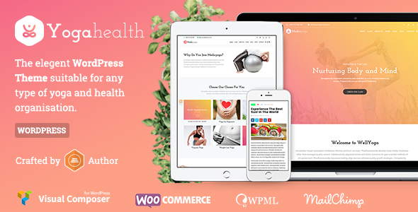 Wordpress Immobilien Template Susastho - Health and Yoga WordPress Theme