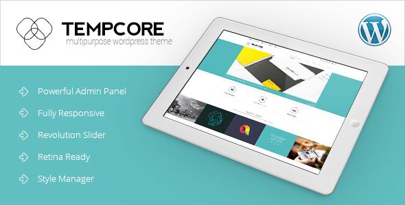 Wordpress Corporate Template Tempcore - Responsive WordPress Theme
