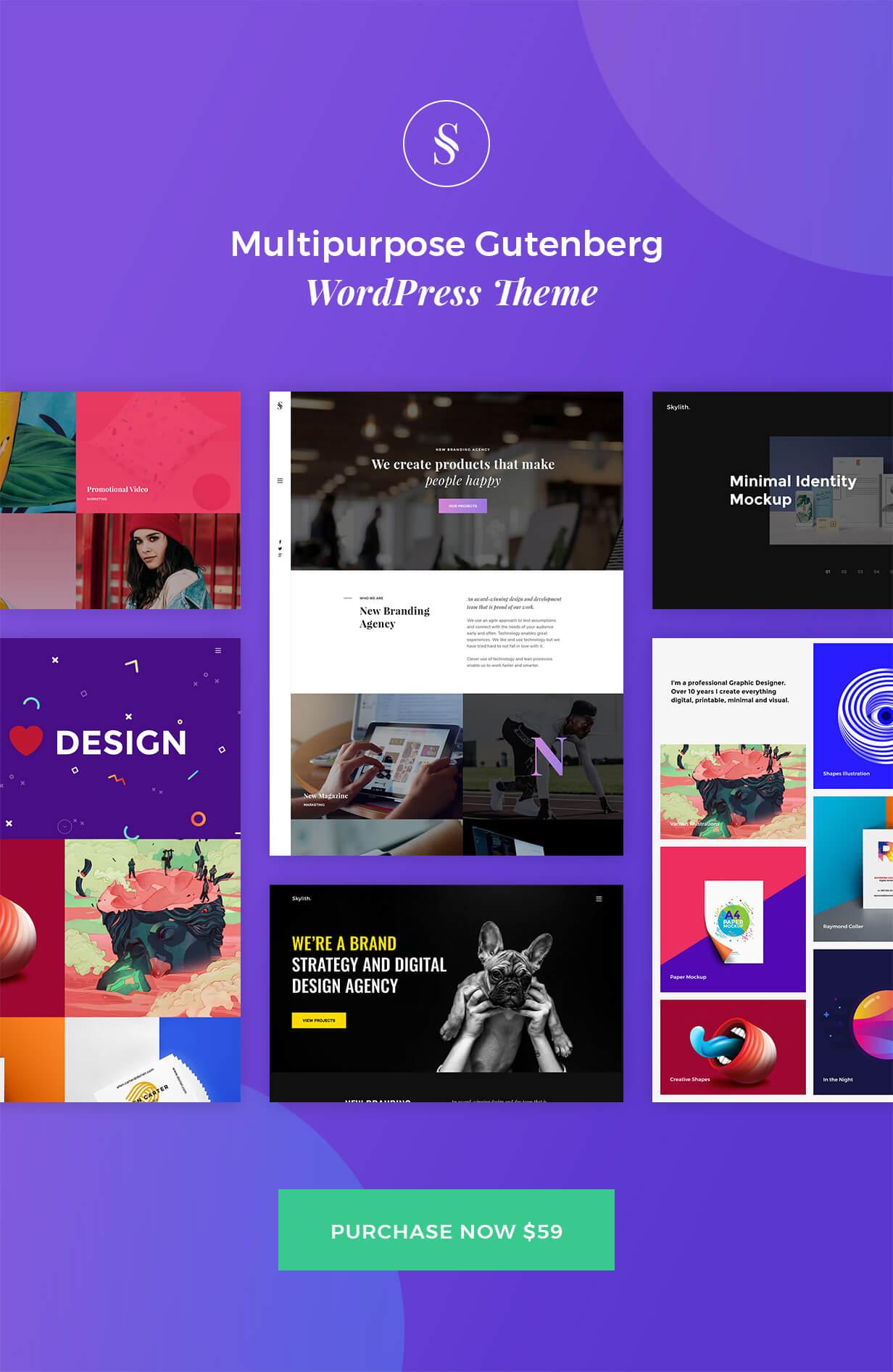 Mehrzweck-WordPress-Theme