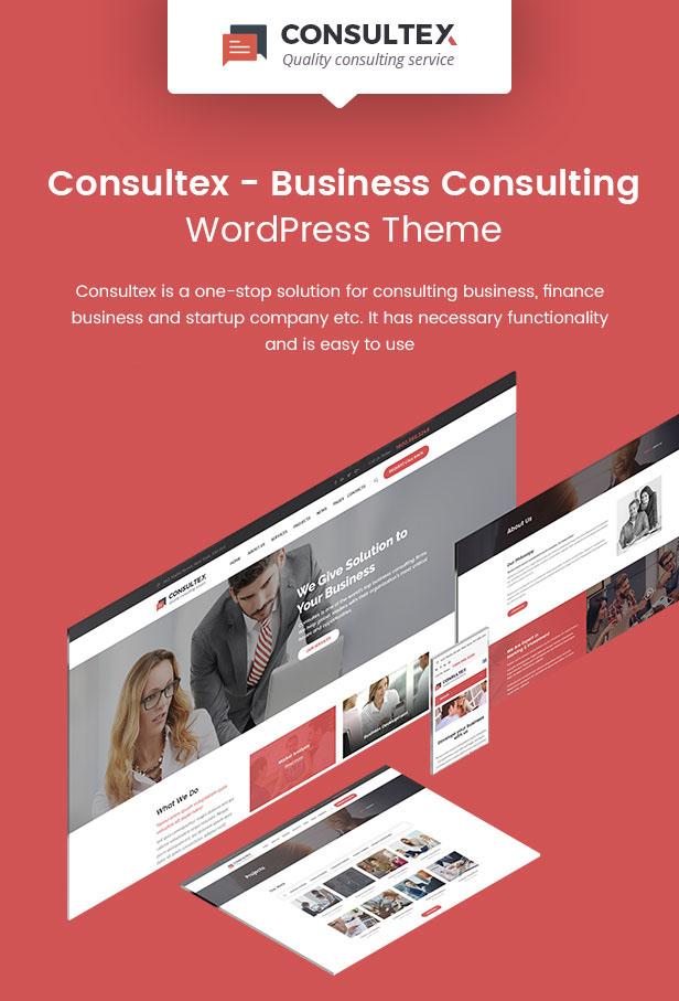 Consultex - Unternehmensberatung WordPress - 1