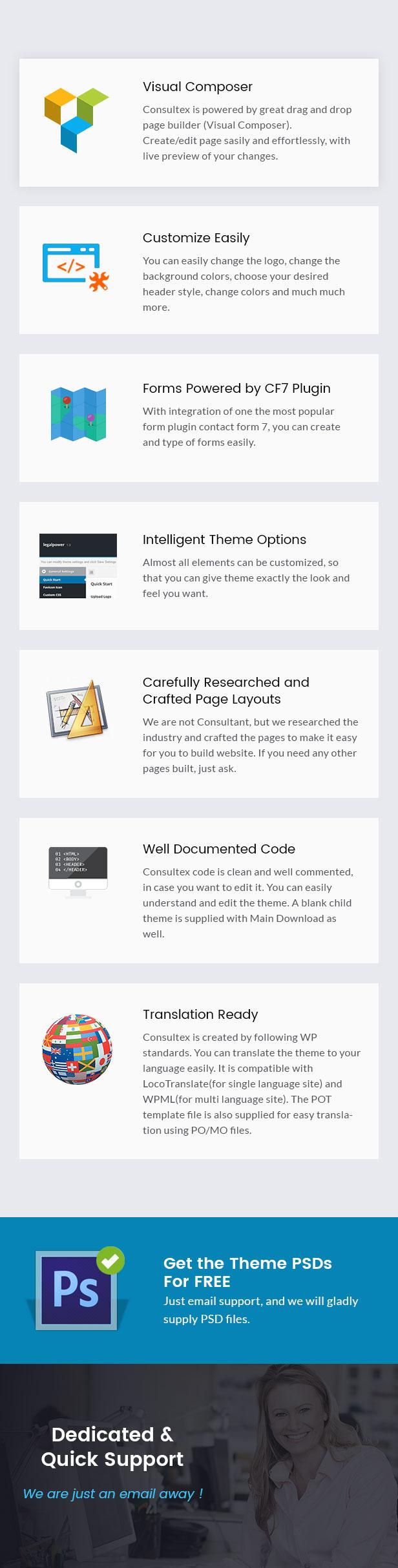 Consultex - Unternehmensberatung WordPress - 4