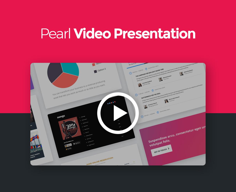 Pearl - Corporate Business WordPress-Theme - 1