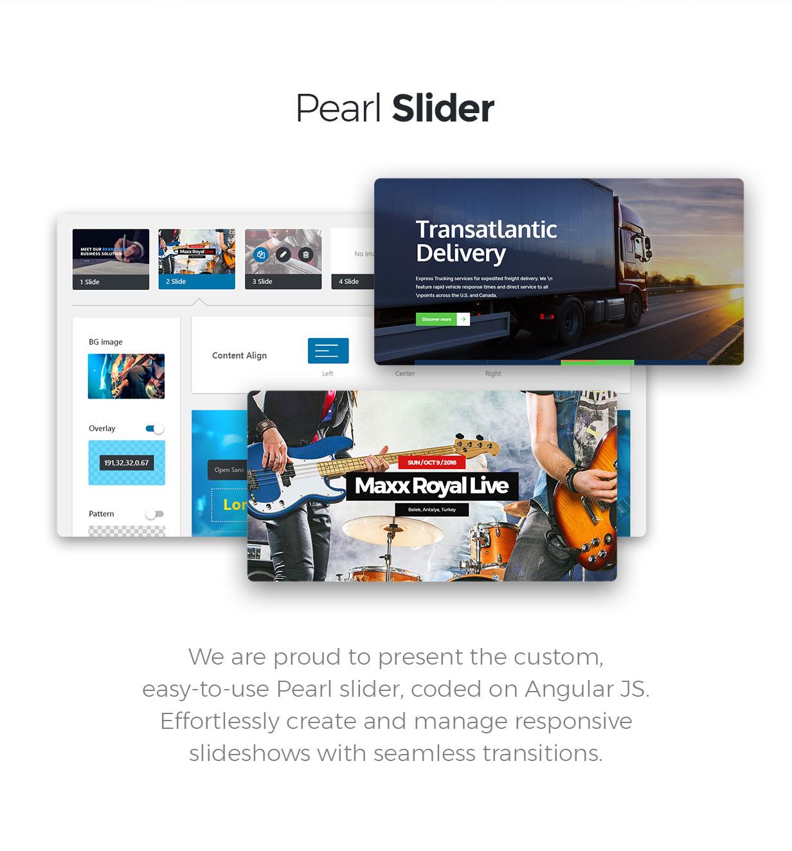 Pearl - WordPress-Theme für Unternehmen - 4