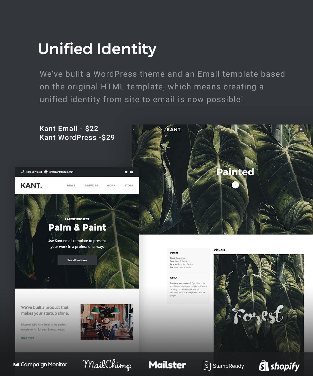 Kant - Ein Mehrzweck-WordPress-Theme für Startups, Kreative und Freiberufler - 7