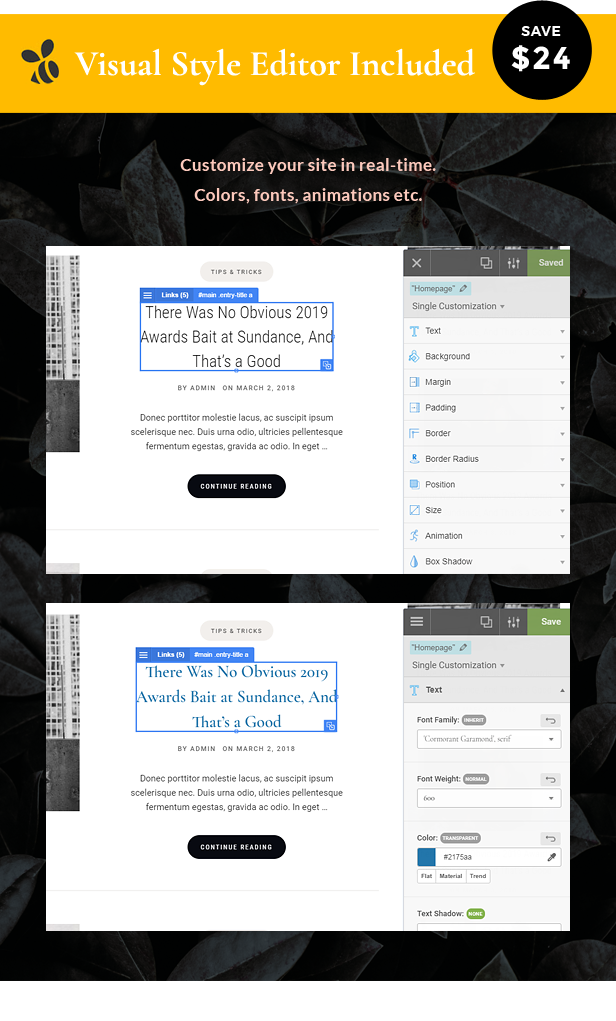 Zahara - Ein WordPress Blog & Shop Thema - 3