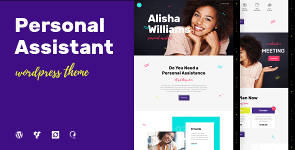 Wordpress Immobilien Template A.Williams   A Personal Assistant & Administrative Services WordPress Theme