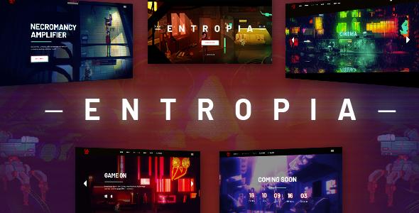 Wordpress Kreativ Template Entropia - Gaming and eSports Theme