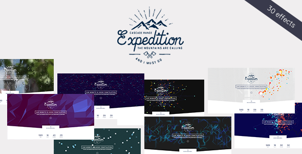 Wordpress Immobilien Template Expedition - Exclusive Coming Soon WordPress Theme