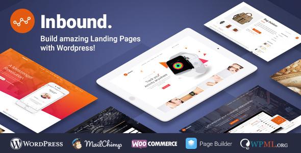 Wordpress Corporate Template Inbound WordPress Landing Page Theme