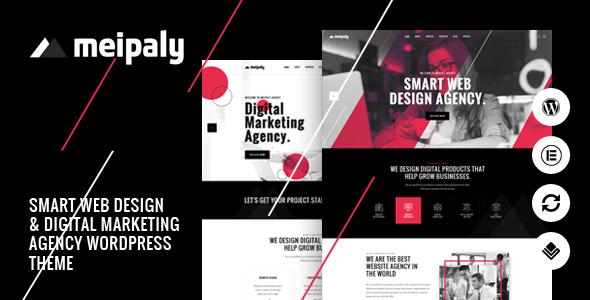 Wordpress Kreativ Template Meipaly - Digital Services Agency WordPress Theme