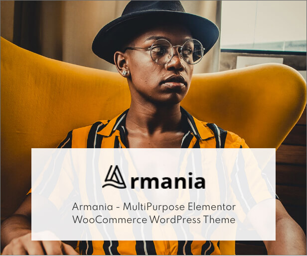 Armania - Elementor WooCommerce Theme - 1
