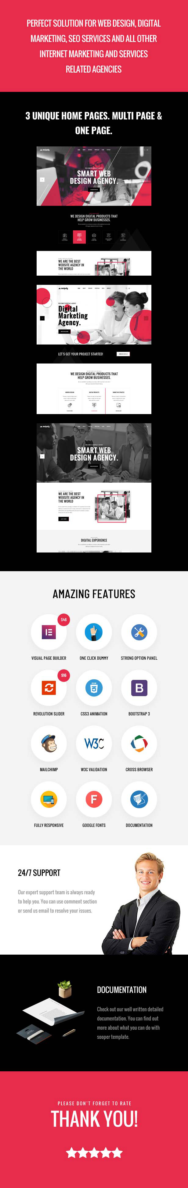 Meipaly - WordPress-Theme der Digital Services Agency