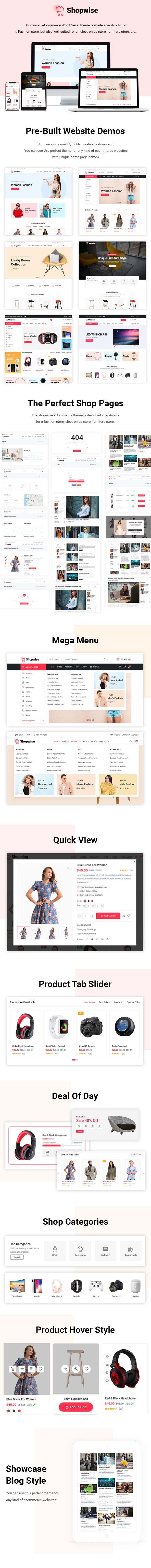 Shopwise - Minimales WooCommerce WordPress Theme - 3