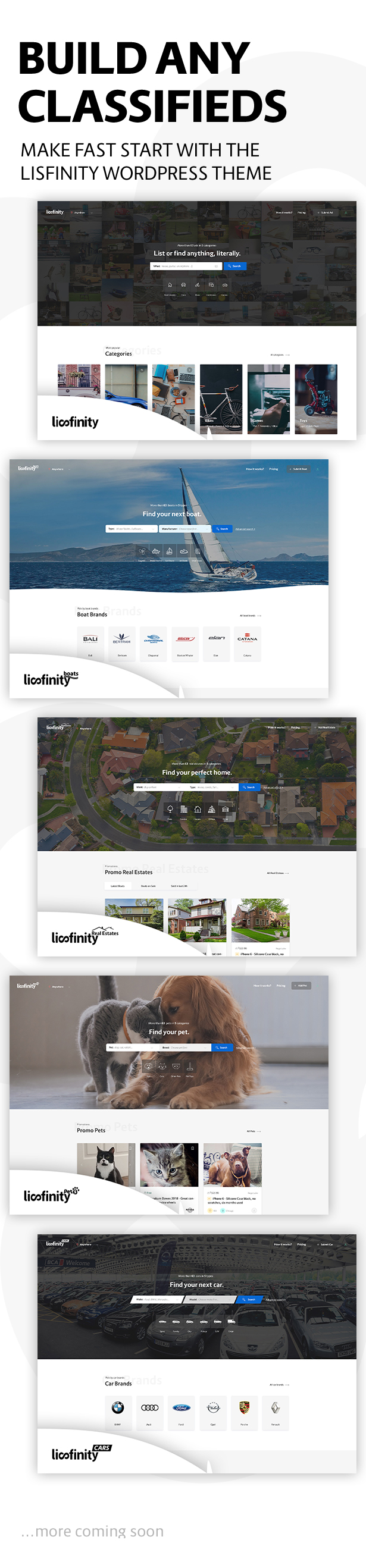 Lisfinity - Kleinanzeigen WordPress Theme - 8