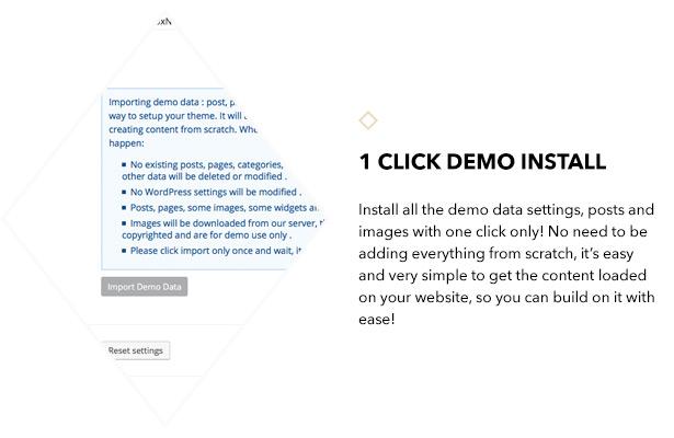 1 Klicken Sie auf Demo installieren