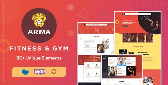 Wordpress Immobilien Template Arima - Boxing, Fitness Club