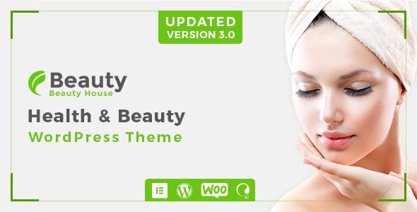 Wordpress Immobilien Template Beautyhouse - Health & Beauty WordPress Theme