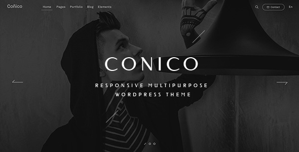 Wordpress Kreativ Template Conico — Responsive Multipurpose WordPress Theme