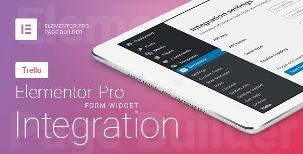 Wordpress Formular Plugin Elementor Pro Form Widget - Trello - Integration