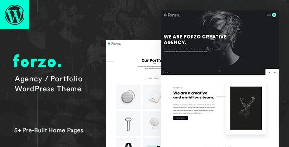 Wordpress Kreativ Template Forzo - Creative Portfolio Agency Theme