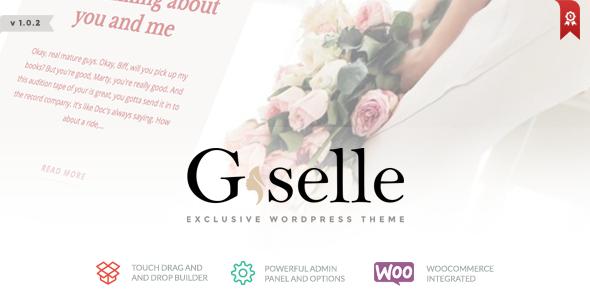 Wordpress Blog Template Giselle - Exclusive Blog & Fashion WordPress Theme
