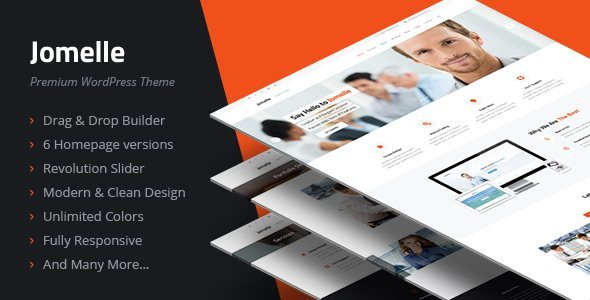 Wordpress Corporate Template Jomelle - Multipurpose Business WordPress Theme
