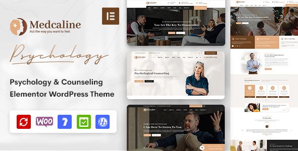 Wordpress Immobilien Template Medcaline - Psychology & Counseling WordPress Theme